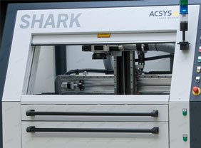 SHARK® Dual-laser and drawer solution