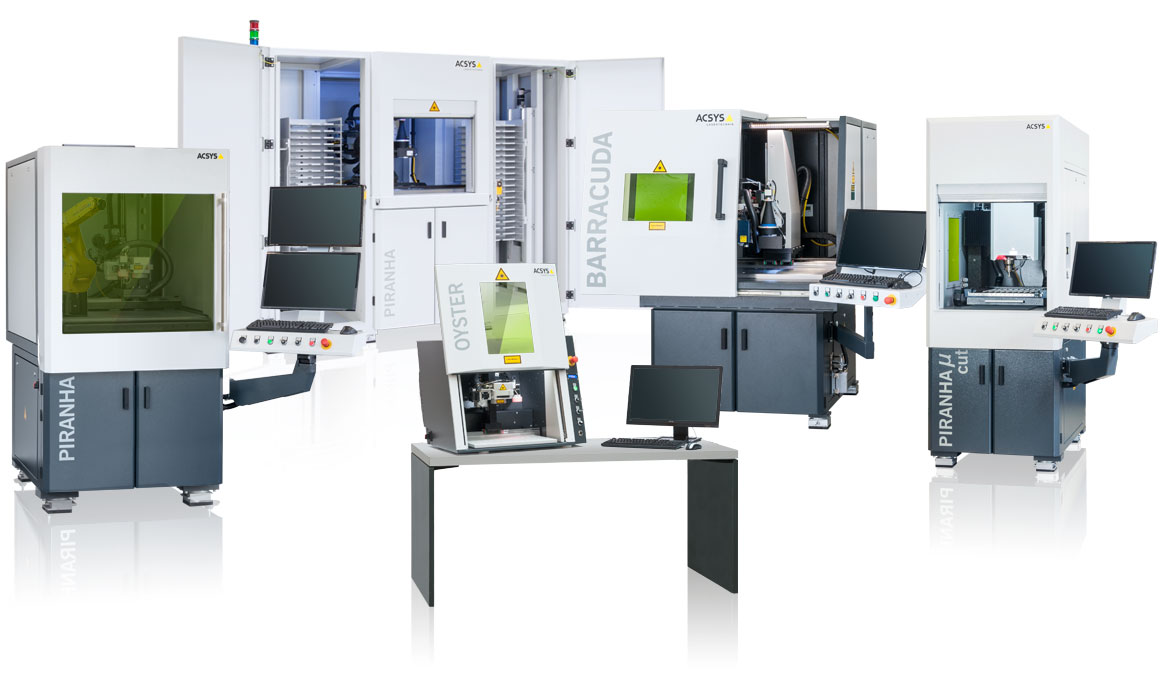 ACSYS laser machines at the AMB in Stuttgart. Hall 8, Stand D12