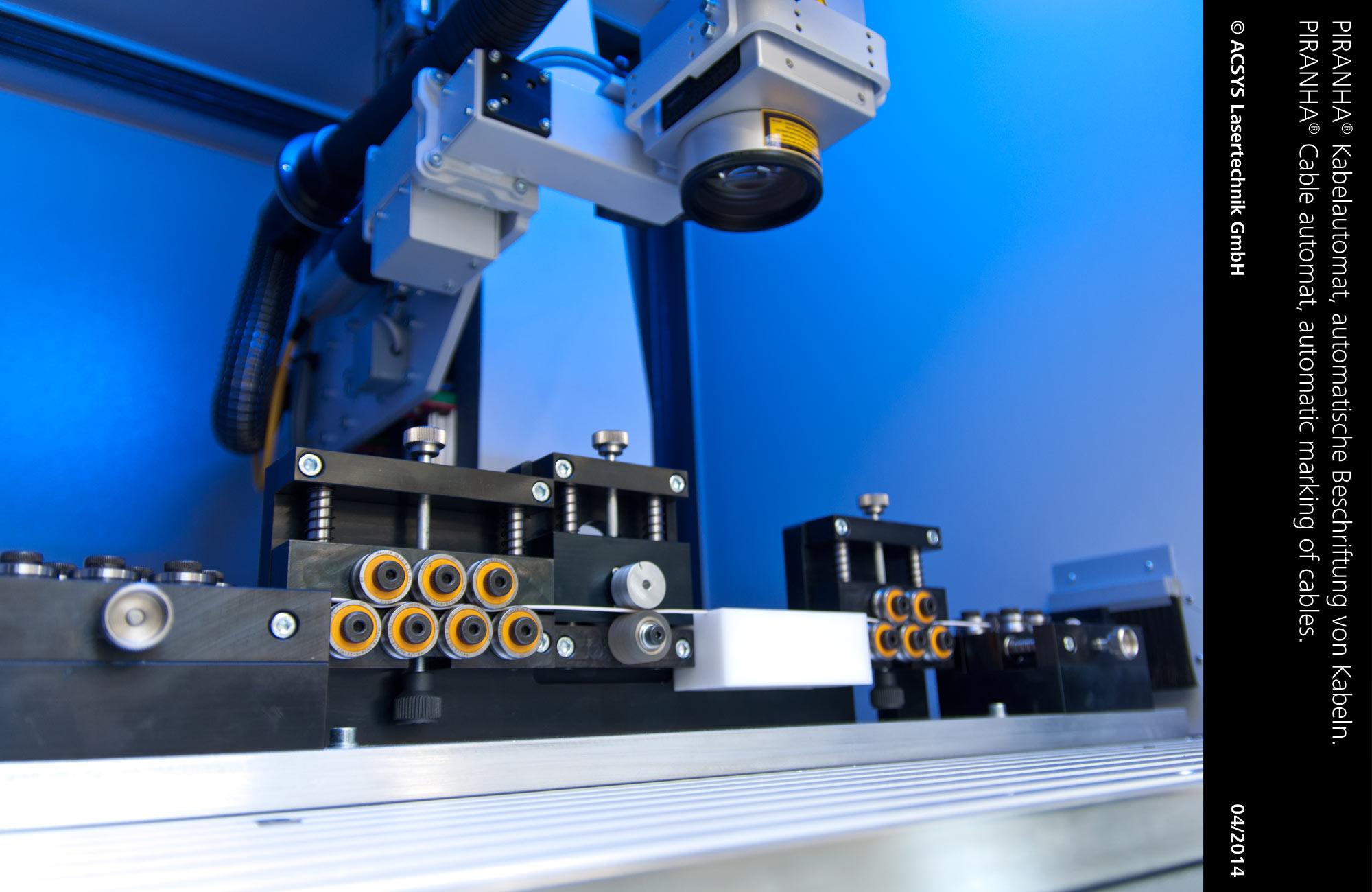PIRANHA Cable automat: ACSYS Lasermaschinen