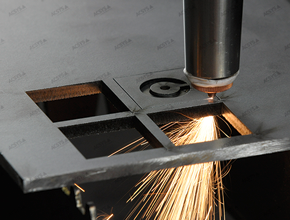 Laser burn cutting with laser cutting systems by ACSYS