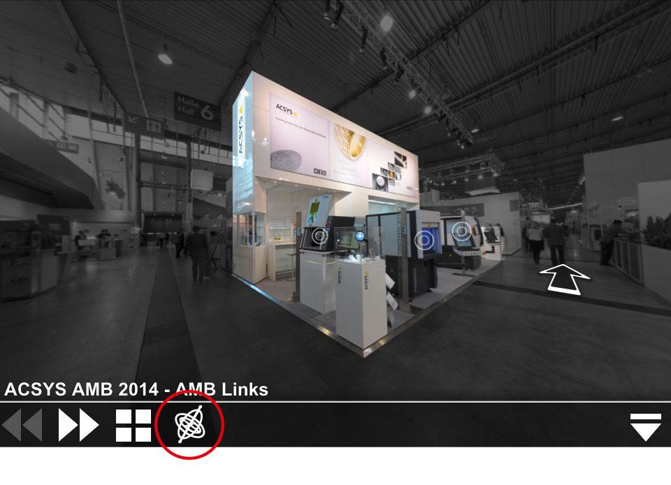 Virtueller Rundgang auf unserem Messestand auf der AMB 2014