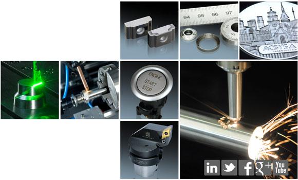 ACSYS Industrie-Lasersysteme für die Laserbeschriftung, Lasergravur, das Laserschneiden und das Laserschweißen.