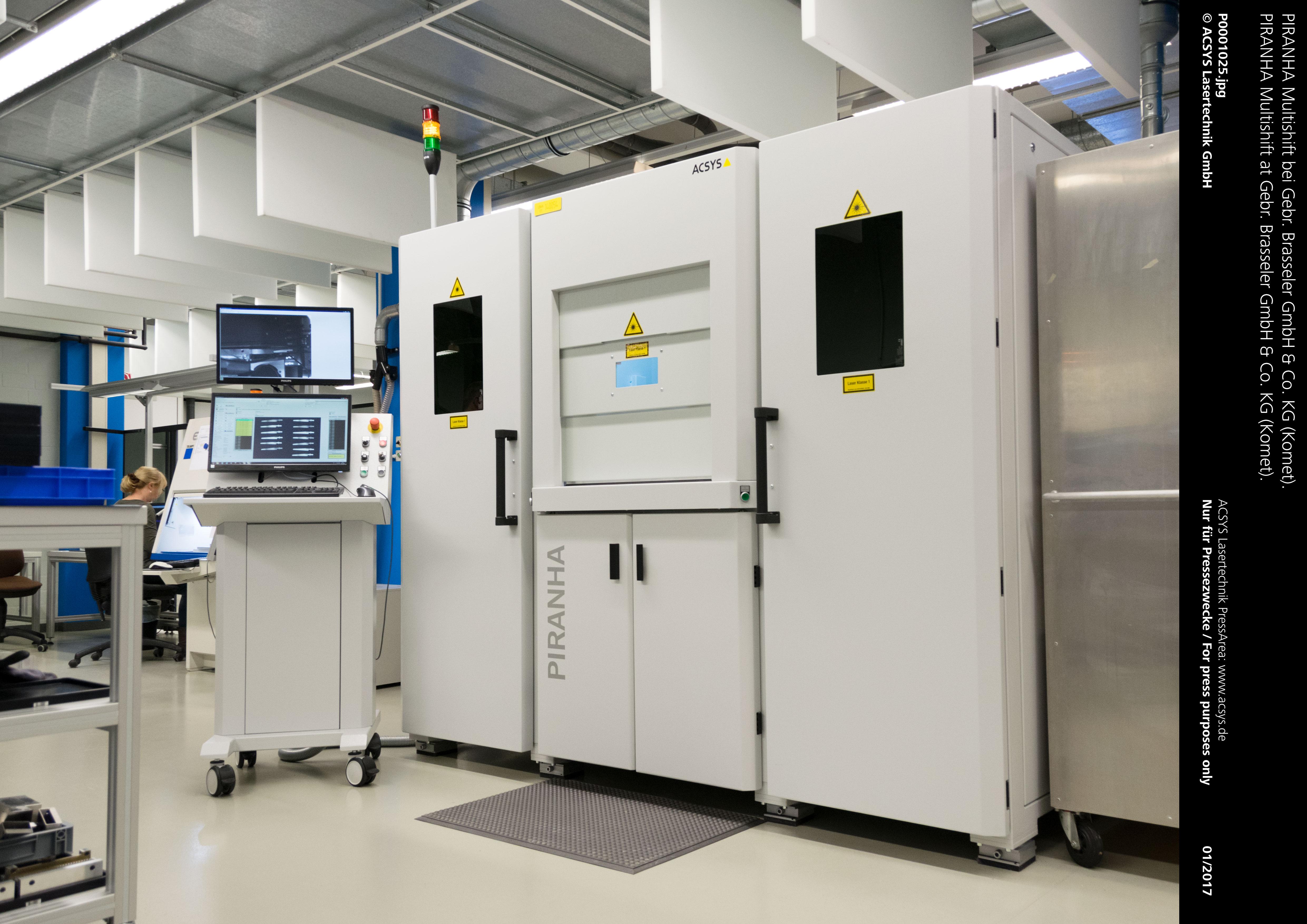 PIRANHA Multishift bei Gebr. Brasseler GmbH & Co. KG (Komet).