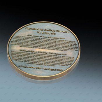 Die Prägewerkzeuge für diese Gedenkmedaille wurden mit dem PIRANHA Lasersystem von ACSYS  hergestellt.