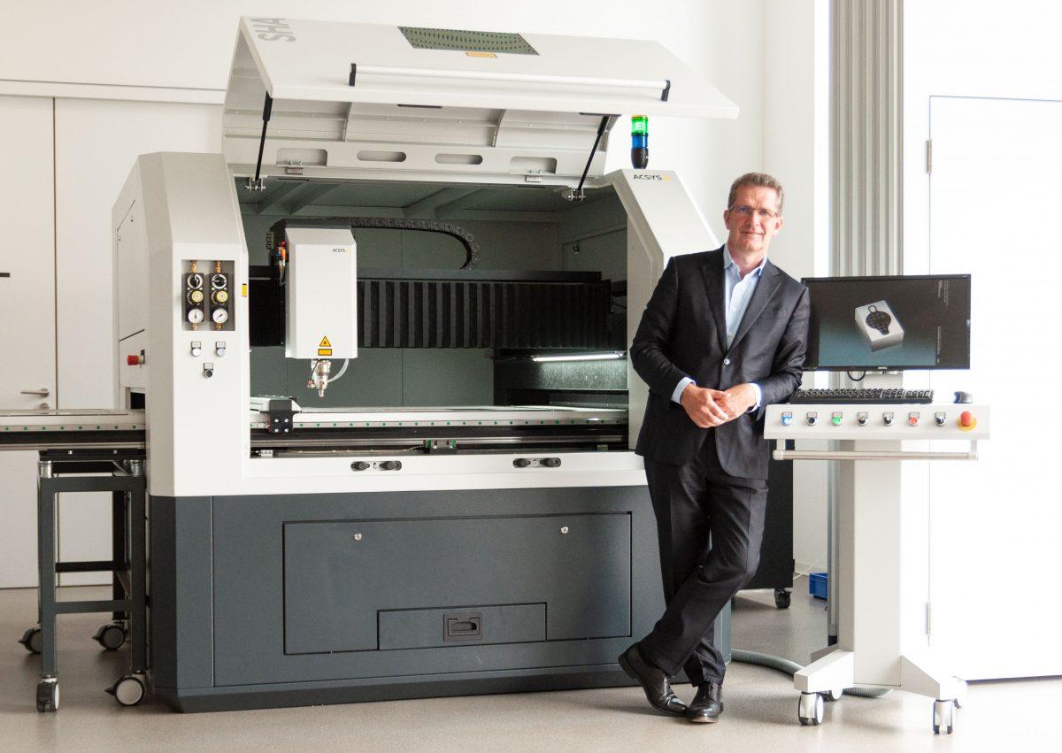 Gerhard Kimmel, geschäftsführender Gesellschafter der ACSYS Lasertechnik GmbH