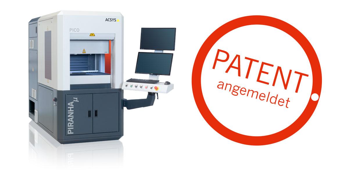 Die Innovation ist beim Deutschen Patent- und Markenamt unter dem amtlichen Aktenzeichen DE10 2019 116 731.0 am 20.06.2019 zum Patent angemeldet.