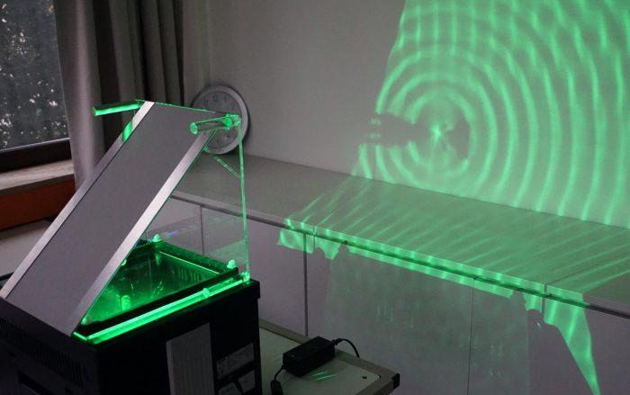 Neue Wellenwanne für die Fachschaft Physik des ESG.